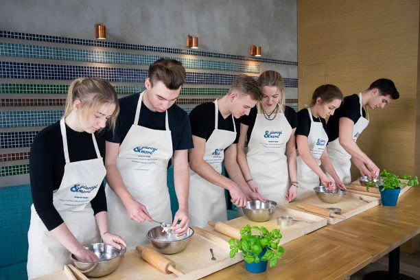 cooking class warsaw