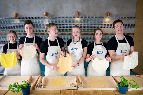dumplings cooking class Warsaw