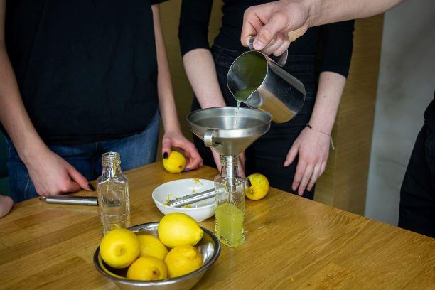 Polish liqueur class in Warsaw