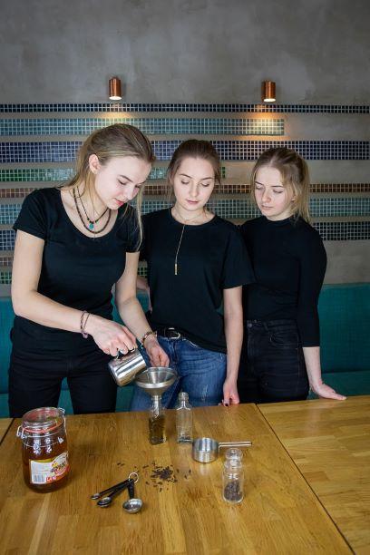 Polish liqueur workshop in Warsaw